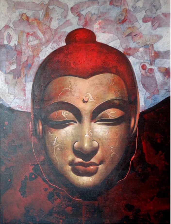 Jiban-Biswas-Meditation-Acrylic-on-Canvas-Painting-EK-0023-AC-0007-36x42.jpg