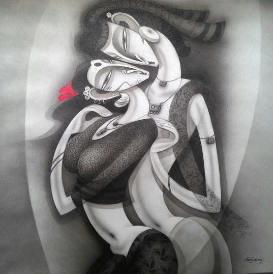 Ramesh-Pachpande-The-Love-in-your-Eyes-Acrylic-on-Canvas-Painting-EK-15-0014-AC-0001-36x36-250000.jpg