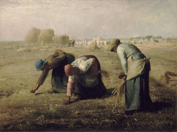 Millet_Gleaners_1857