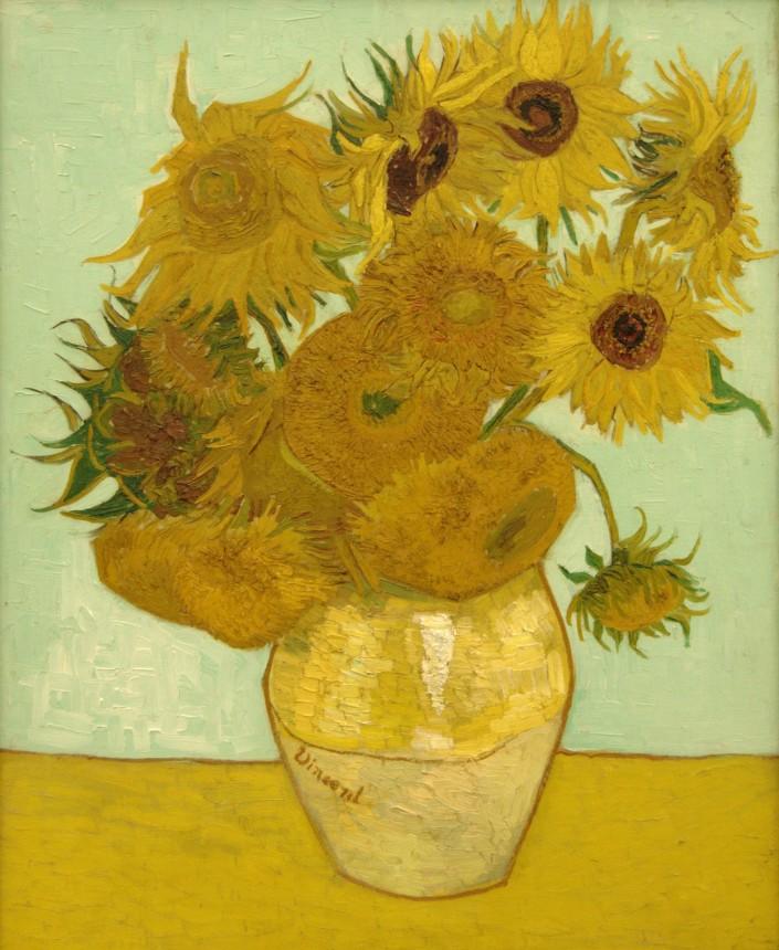Van_Gogh_Sunflowers_1888