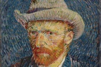 Vincent Van Gogh, Self Portrait with grey felt hat, 1887