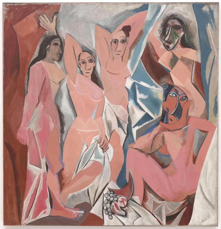 Picasso_Les_Demoiselles_d'Avignon-2