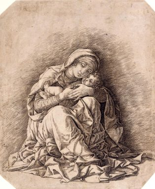 Andrea Mantegna, Virgin and Child, 1490