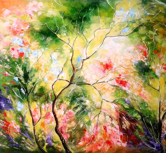 bahadur-singh-nature-9-oil-on-canvas-painitng-ek-15-0014-ol-0015-30x30
