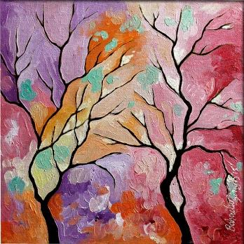 bahadur-singh-seasons-52-oil-on-canvas-painting-ek-15-0016-ol-0032-12x12