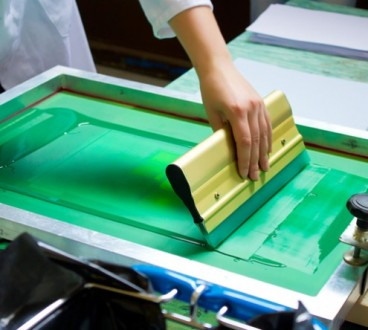 Screen printing process