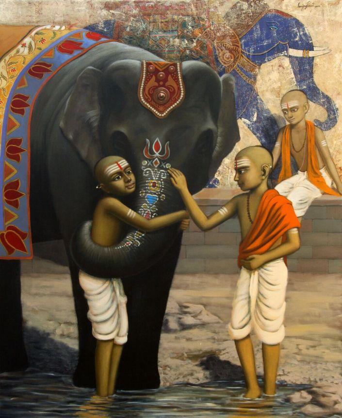 gurukul-3-sanjay-raut-painting