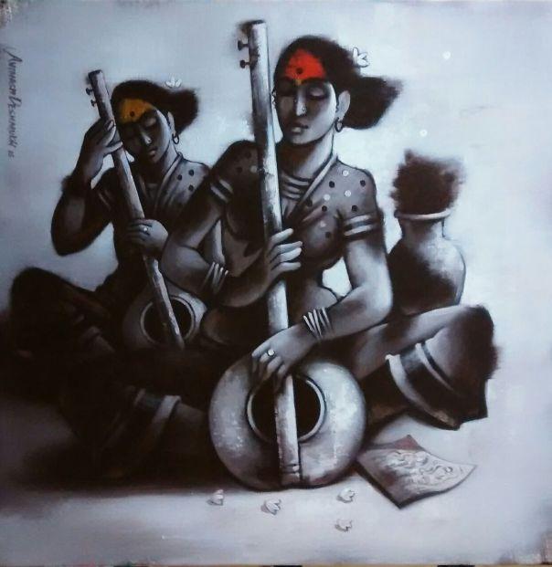 mellifluous3-avinash-deshmukh-painting