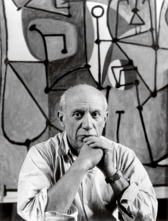 Photograph of Picasso